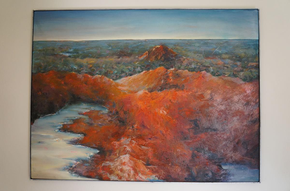 Helene's exhibition - art for the soul
