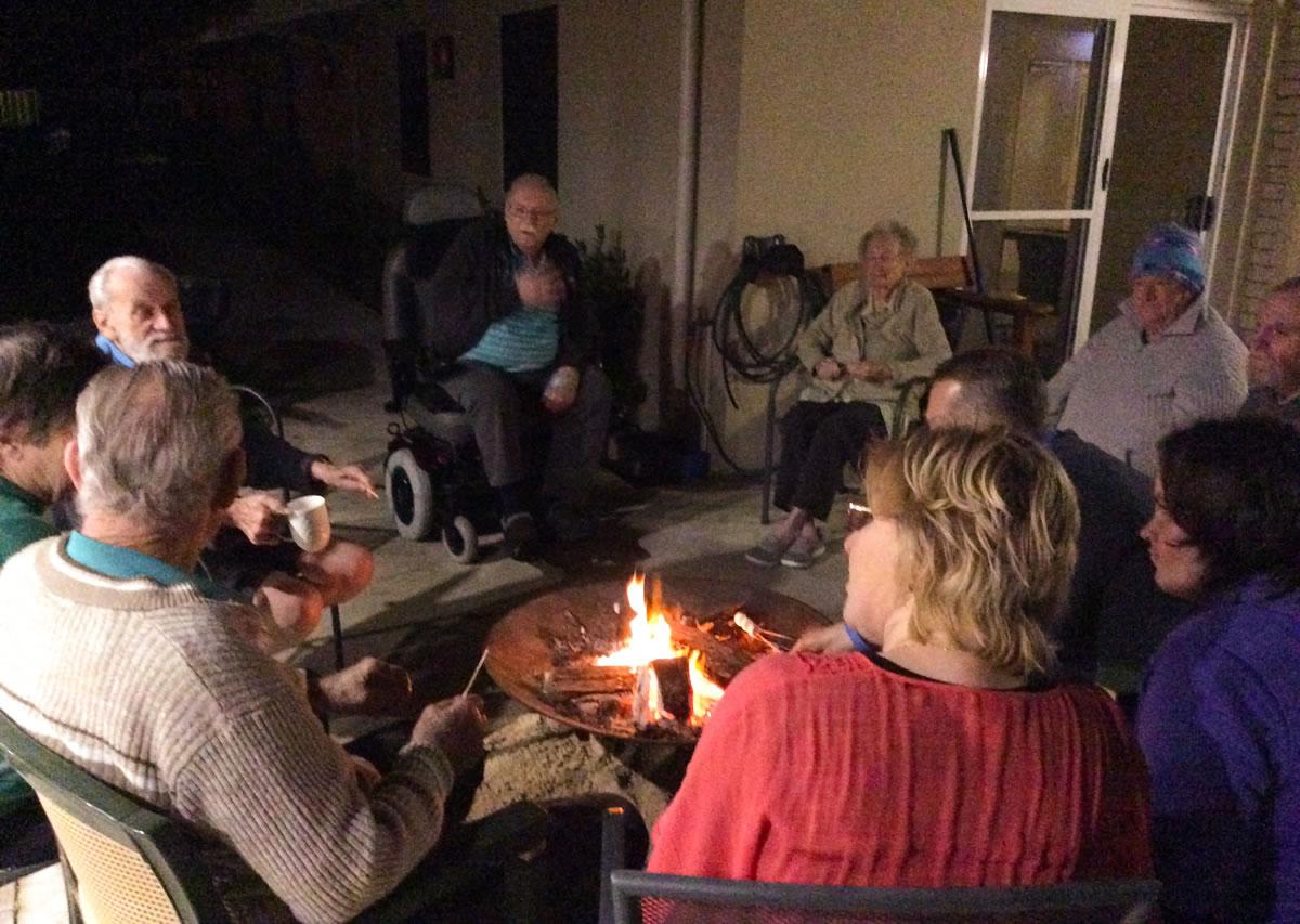 Dryandra's campfire sessions