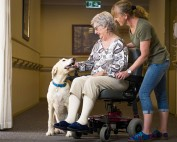 Residential Care - Puppy love at David Buttfield Centre