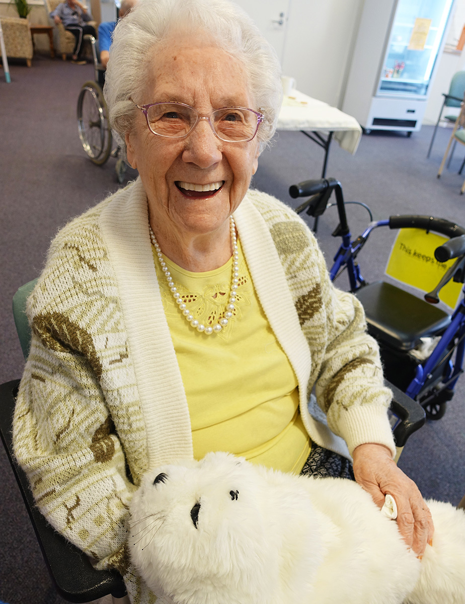 Technology provides comfort for Baptistcare residents