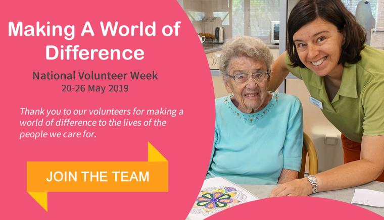 Volunteering at Baptistcare