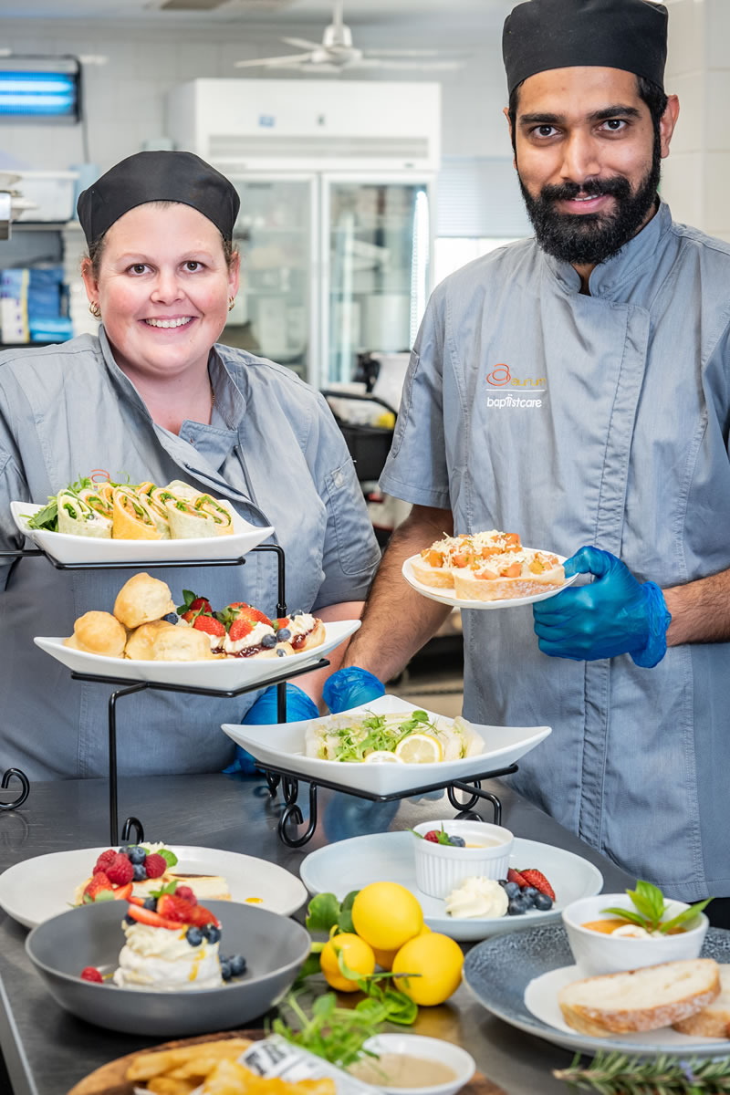 Baptistcare Residential Care, Kitchen And Meals