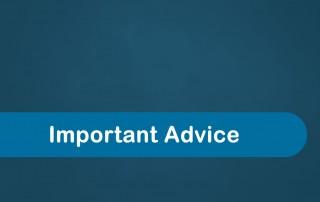 Baptistcare Important Advice