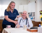 Baptistcare Home Care Customer Ronald Morrison